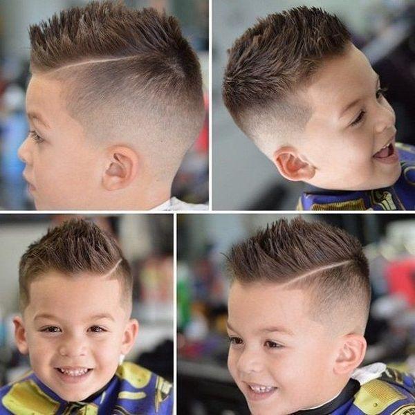 Фото разных причёсок для мальчиков