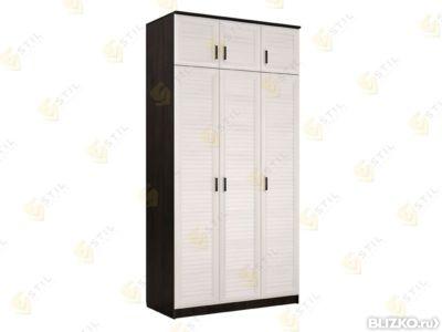 Шкаф распашной стиль т-10ж в москве. цена товара 15 750 руб..