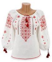 Народные рубашки-вышиванки женские